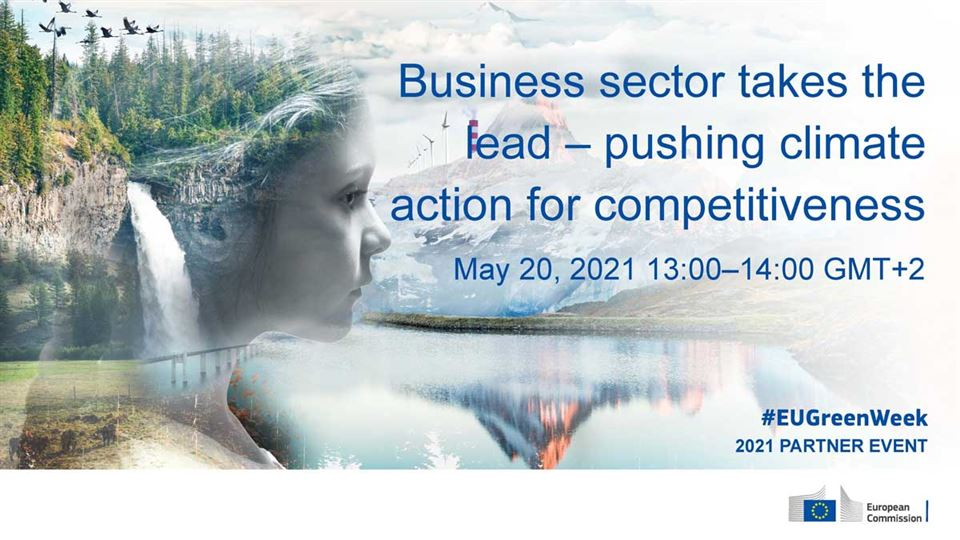 Business sector takes the lead – pushing climate action for competitiveness