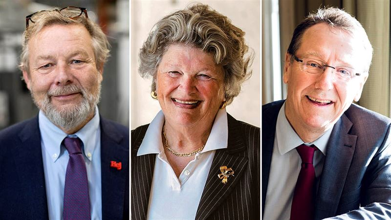 IVA names Peter Wallenberg Jr, Jan-Eric Sundgren and Mary Walshok as Honorary Members